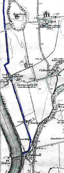 Lade route to Waulkmill